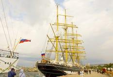 Międzynarodowy regatta, Varna Zdjęcia Stock