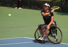 Międzynarodowy tenisowy wózka inwalidzkiego mistrzostwo Obrazy Royalty Free