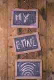 Mi email personal Imagen de archivo libre de regalías