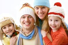 Mi familia Imagen de archivo libre de regalías