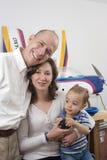 Mi familia y mi manía Foto de archivo