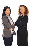 Mi femmes adultes attirants d'affaires Photo stock