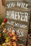 Mi Forever siempre imagen de archivo libre de regalías