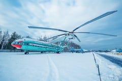 MI-12 - Hélicoptère lourd de transport Photographie stock