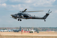 Mi-28 Havoc Obrazy Stock