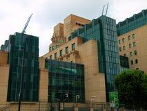 MI6_Headquarters Royaltyfria Foton