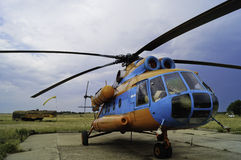 Mi-8 helicopter Stock Image