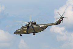 Mi-26 helicopter Royalty Free Stock Photos