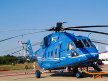 Mi 38 helicopter royalty free stock photos