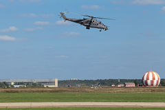 Mi-35 helikopter Zdjęcia Stock