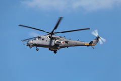 Mi-35 helikopter Obraz Royalty Free