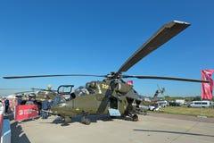 Mi-35 helikopter Royalty-vrije Stock Afbeelding