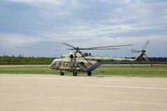 Mi-2 helikopter Stock Fotografie