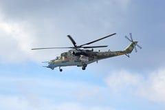 Mi-24 helikopter mi-35 Stock Foto's