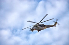 Mi-24 helikopter na Radomskim Airshow, Polska Obraz Royalty Free