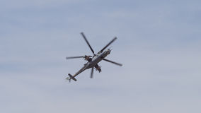 Mi-24 Hind helicopter Royalty Free Stock Image