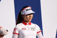 Mi Hyang Lee at the ANA inspiration golf tournament 2015 Royalty Free Stock Photography