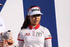 Mi Hyang Lee at the ANA inspiration golf tournament 2015 Royalty Free Stock Images
