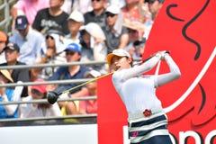 MI Hyang Lee en Honda LPGA Tailandia 2017 Imagen de archivo