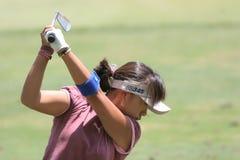 Mi Hyu Kim, LPGA golf Tour, Stockbridge, 2006 Royalty Free Stock Photography