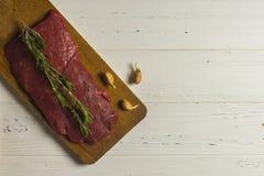 Mięso i warzywa Fotografia Stock