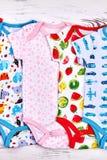Miękcy organicznie rompers dla dzieciaków Zdjęcie Royalty Free
