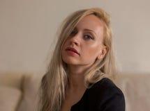 Miękka blondynka obrazy royalty free