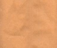 Miękki Brown papier Fotografia Stock