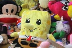 Miękkie colourful zabawki dla dzieciaków Fotografia Stock