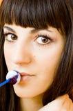 Mi lollipop.    Foto de archivo libre de regalías