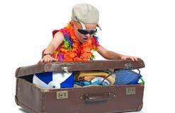 Mi maleta Imágenes de archivo libres de regalías