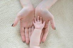 Mi mano está en sus manos Fotografía de archivo libre de regalías
