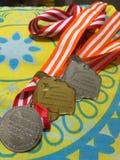 Mi medalla Fotos de archivo