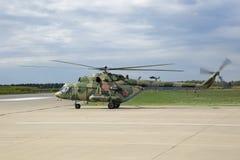 Mi8MT直升机 免版税库存图片
