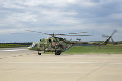 Mi-8MT Hubschrauber Lizenzfreies Stockbild