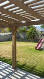 Mi patio trasero Foto de archivo libre de regalías