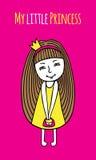 Mi pequeña princesa Imagen de archivo