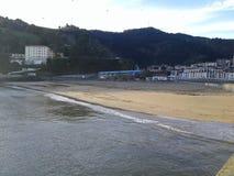 Mi playa Foto de archivo libre de regalías