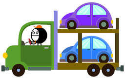 Mi portador de coche stock de ilustración