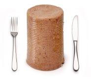 mięso przetworzone jedzenie fiutka Zdjęcia Stock