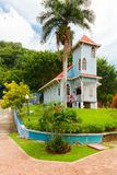 Mi pueblito village museum church panama outside view royalty free stock images