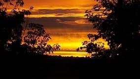 Mi puesta del sol Imágenes de archivo libres de regalías