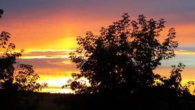 Mi puesta del sol Fotografía de archivo