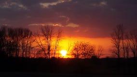 Mi puesta del sol Fotos de archivo
