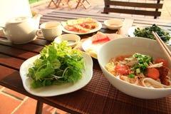 Mi Quang 越南烹调 免版税库存图片