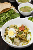 Mi Quang, Vietnamese Rice Noodle from The Middle Royalty Free Stock Image