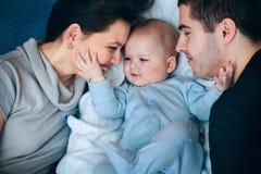 Miła rodzina zdjęcie royalty free