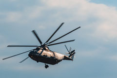 Mi-26 Russian Helicopters at MAKS 2015 Airshow Stock Images