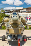 Mi-28 Russian military helicopters Stock Image