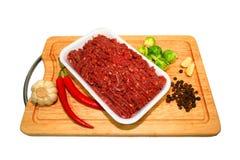 mięsa mielonego Zdjęcia Stock